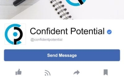 Logo and branding for local business Confident Potential