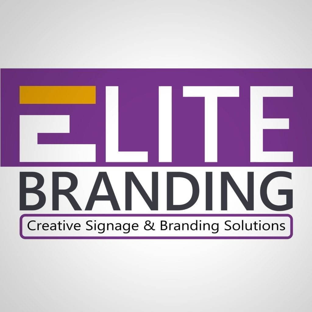 Elite Branding Logo Design for Print