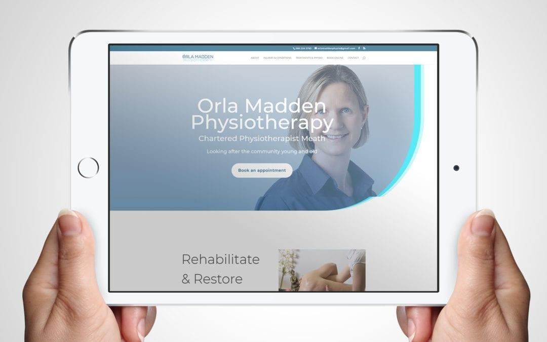Orla Madden Physiotherapist Website Design Clients | DesignBurst