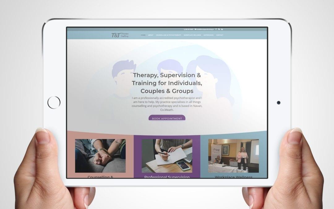 Therapy & Training – Psychotherapist Website  | DesignBurst