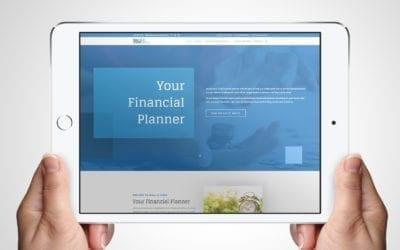Your Financial Planner Website | Web Design Clients | DesignBurst