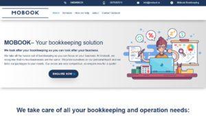 Mobook Accounting Website Design by DesignBurst 960x540