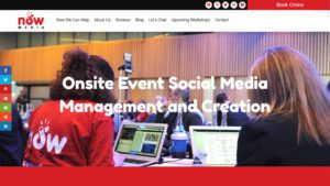 Now Media Website Design by DesignBurst 960x540