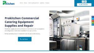 Pro Kitchen Catering Equipment Website Design by DesignBurst 960x540