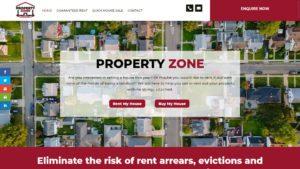 Property Zone Buyer Website Design by DesignBurst 960x540