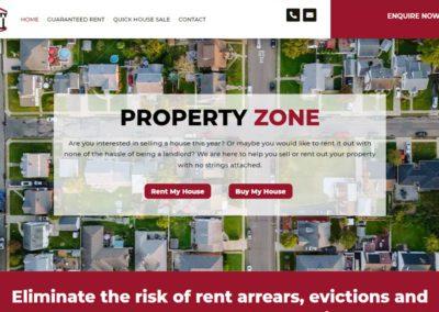 Website Design for Property Company