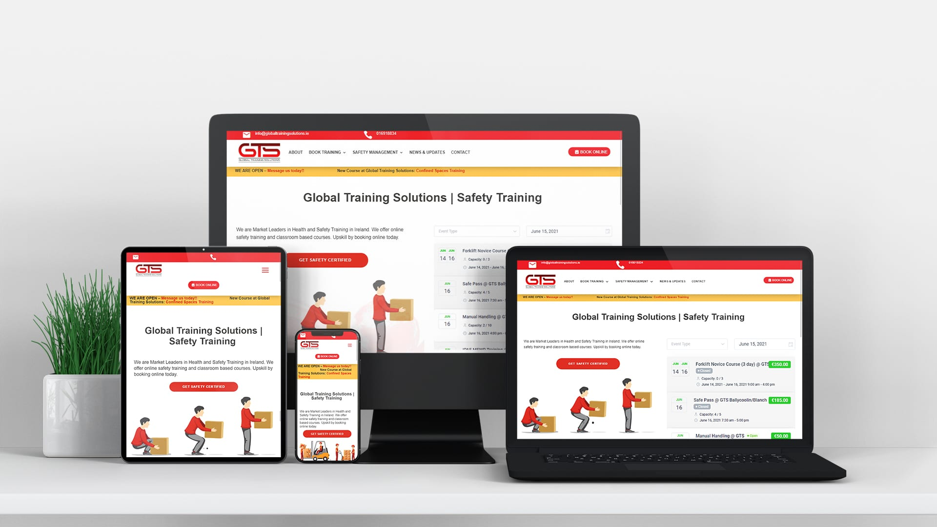 global training solutions online safety trainging Ireland